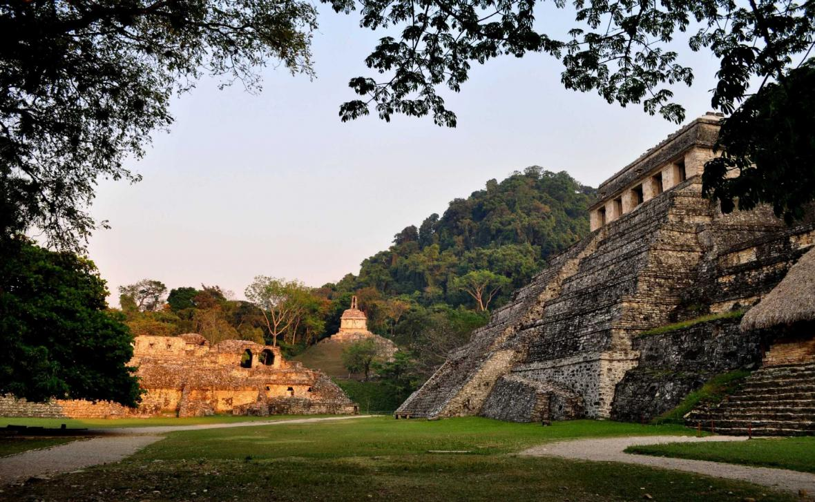 Mayské město Palenque