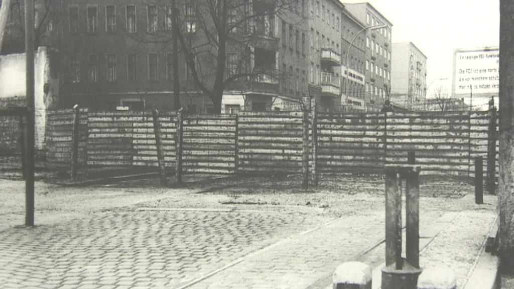 Berlínská zeď ve fotografii