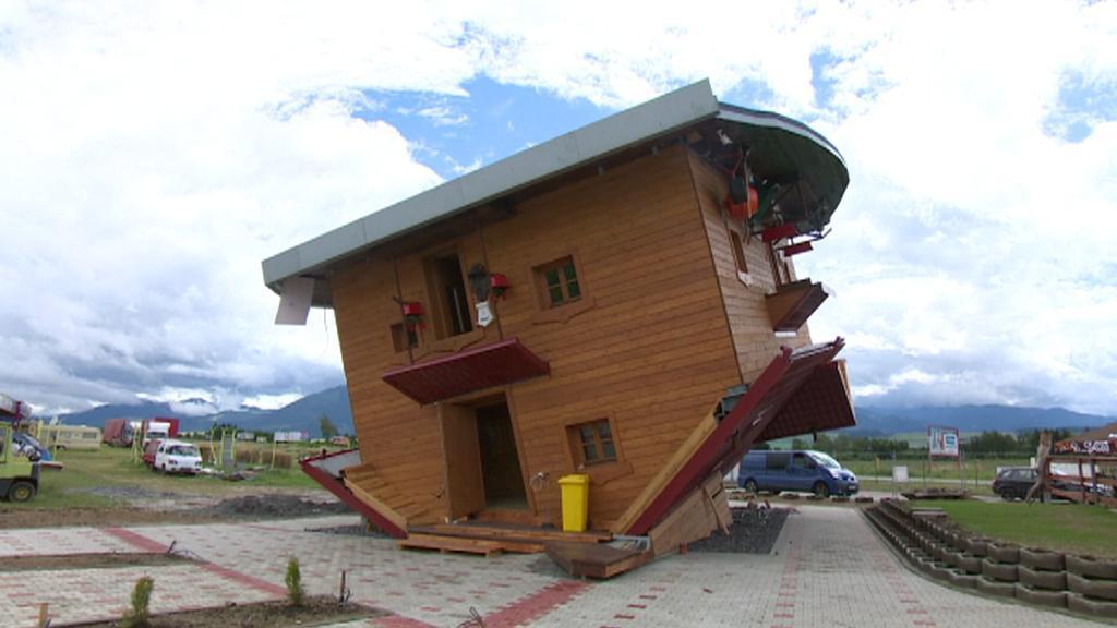 Obrácený dům v Liptově