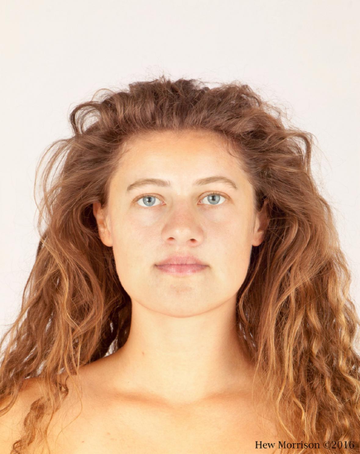 Rekonstrukce dívky z doby bronzové
