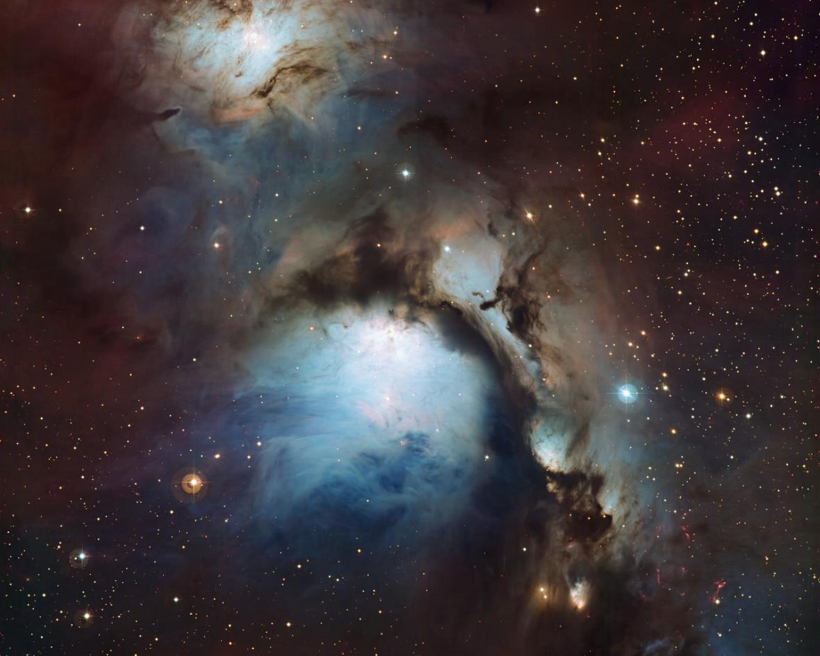 Messier 78 z observatoře La Silla