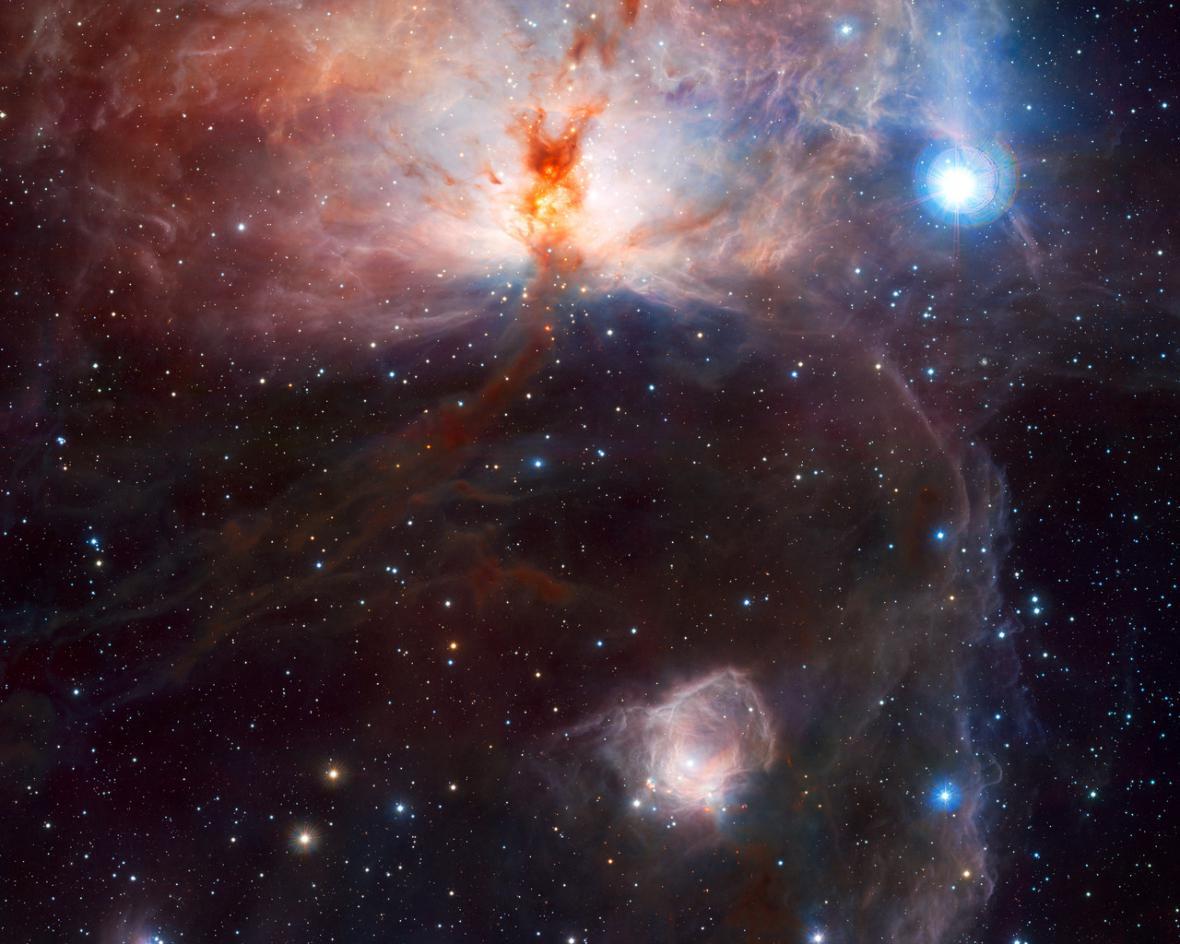 Mlhovina Plamínek (NGC 2024)
