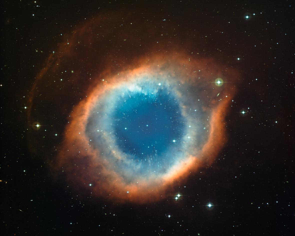Planetární mlhovina NGC 7293 Helix