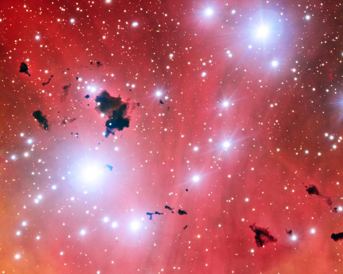 Mlhovina  Lambda Centauri (IC2944)