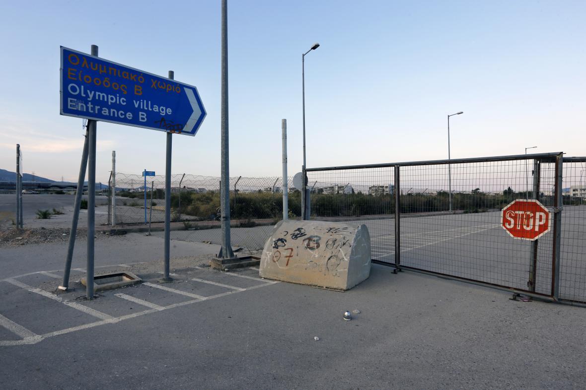 Chátrající sportoviště aténské olympiády