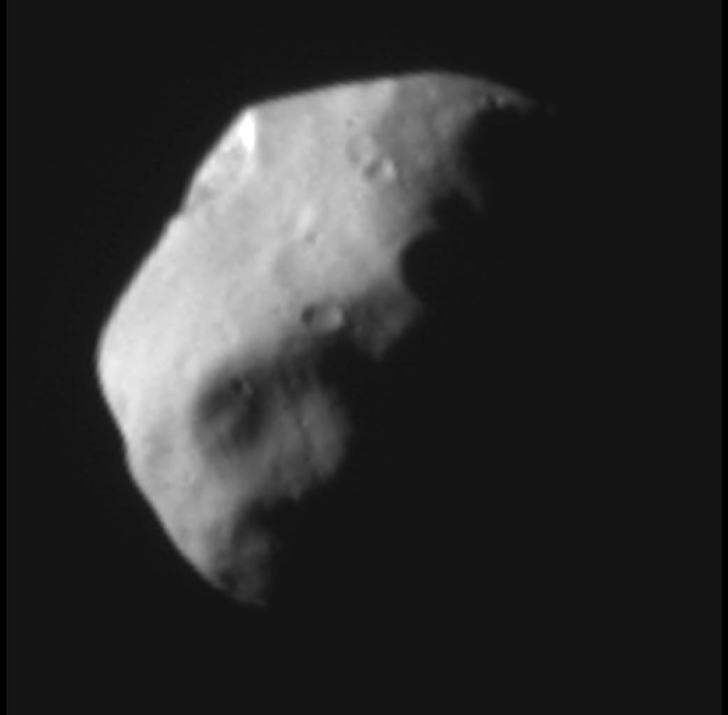 Nyx, menší z měsíců Pluta