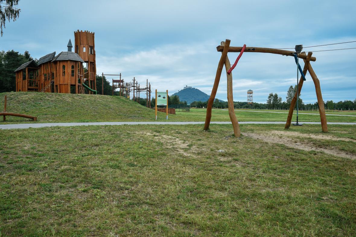 Sportovně-rekreační areál Vrchbělá