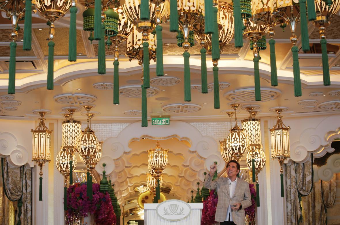 Nové kasino v Macau stálo 4 miliardy dolarů