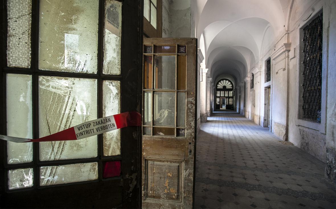 Interiéry Invalidovny