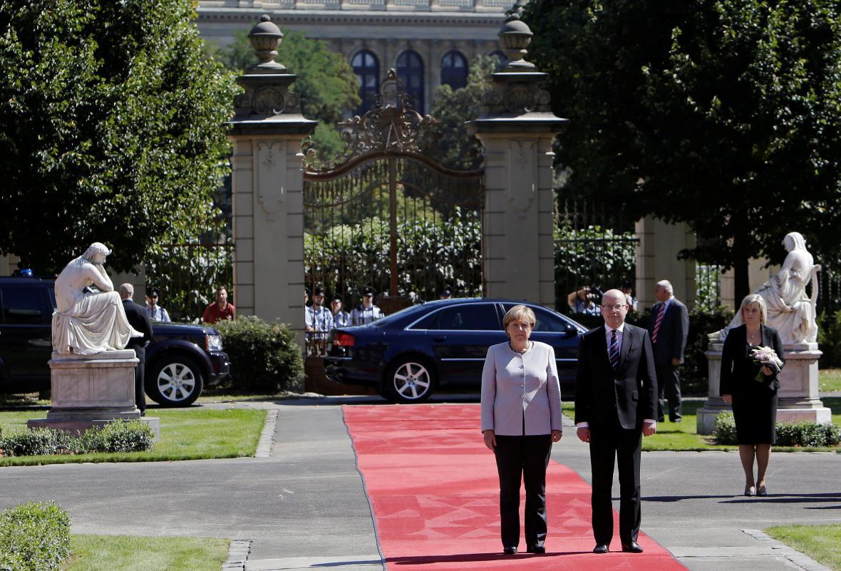 Návštěva Angely Merkelové v České republice