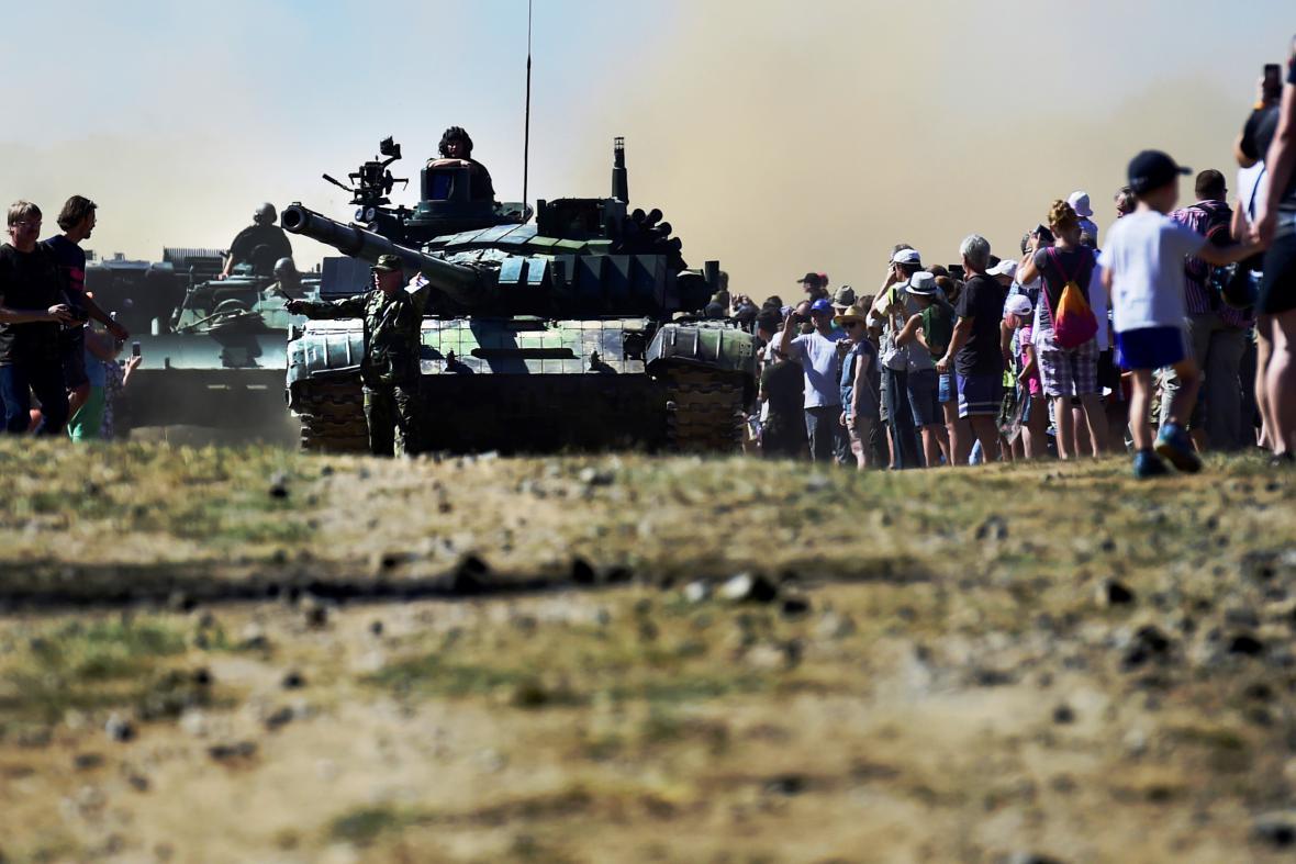 Tankový den v Lešanech