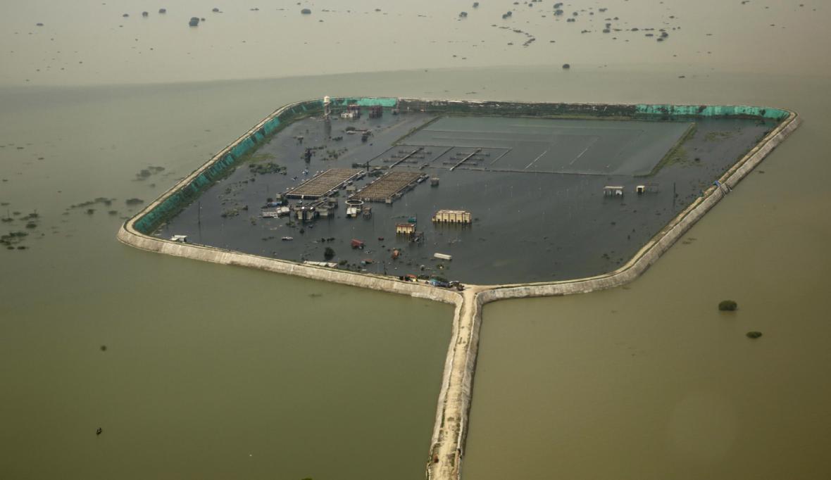 Rekordní záplavy v Indii jsou výsledkem rostoucí vrstvy sedimentů