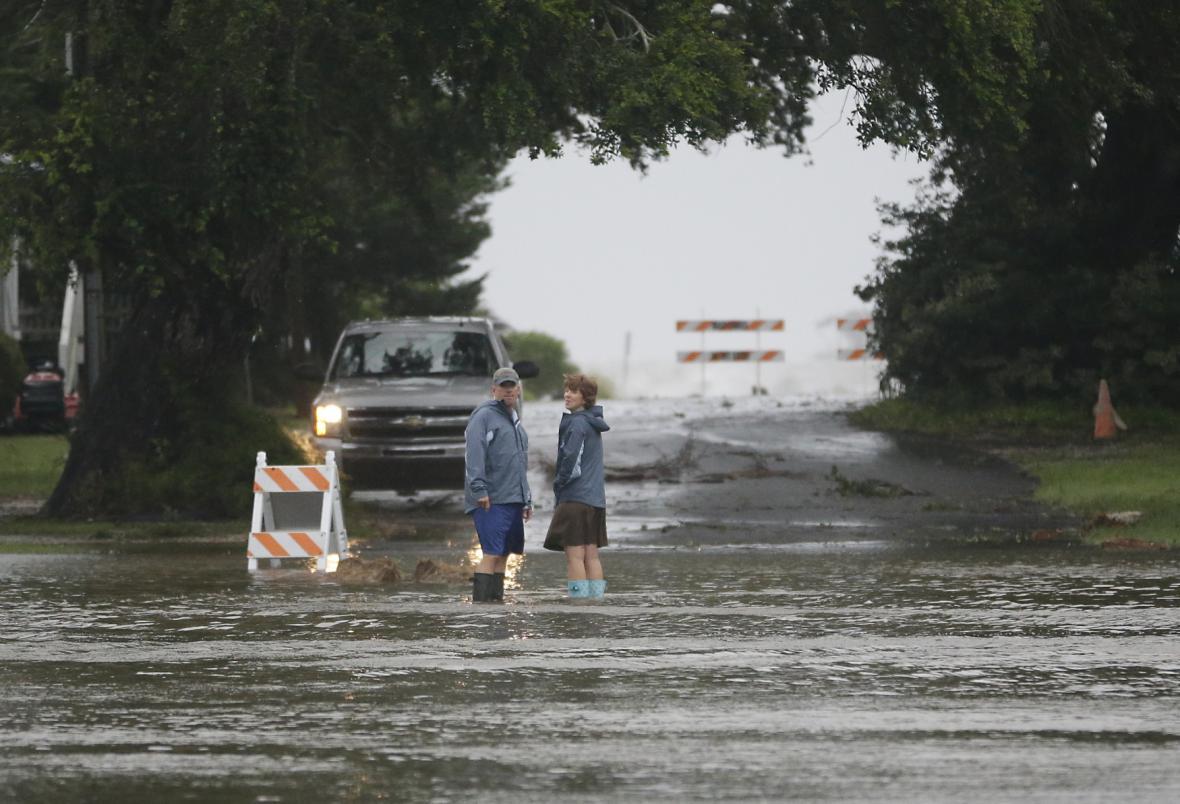 Hurikán Hermine dorazil na Floridu