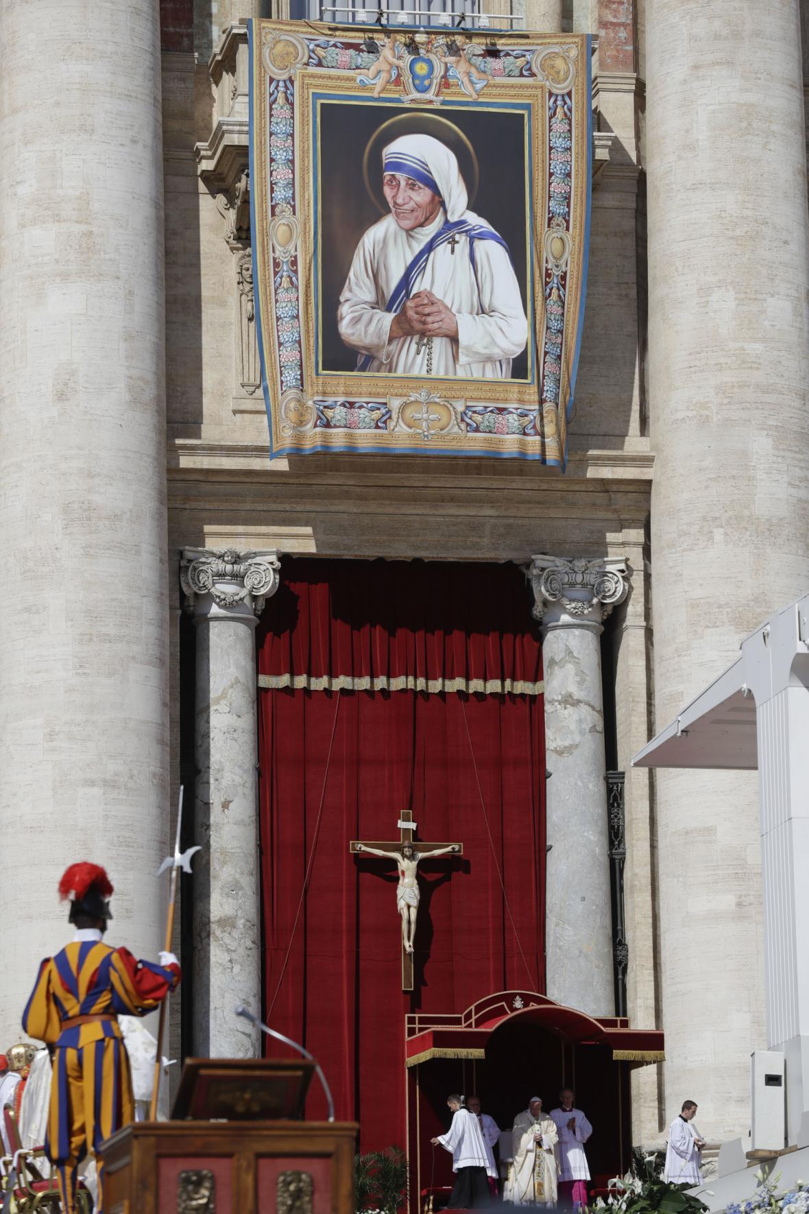 Svatořečení Matky Terezy