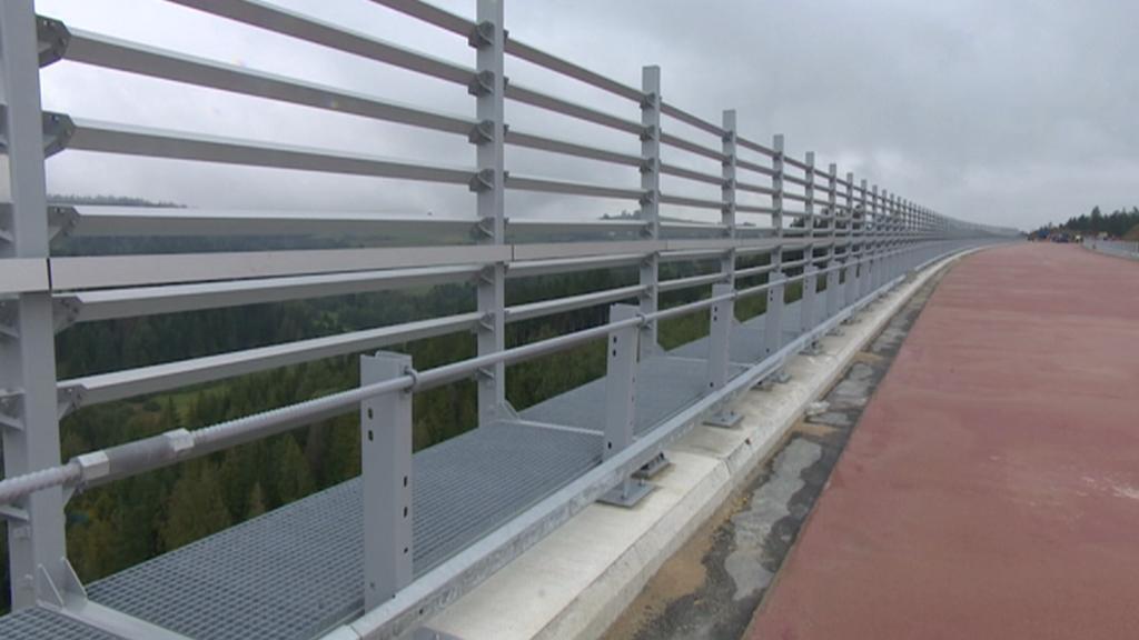 Most Valy bude nejvyšším ve středním Evropě