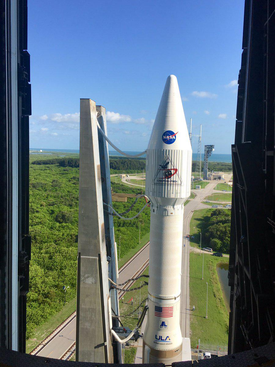Podmínky před startem mise OSIRIS-REx