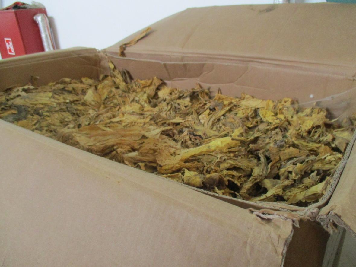 Celníci zabavili 100 tun tabáku