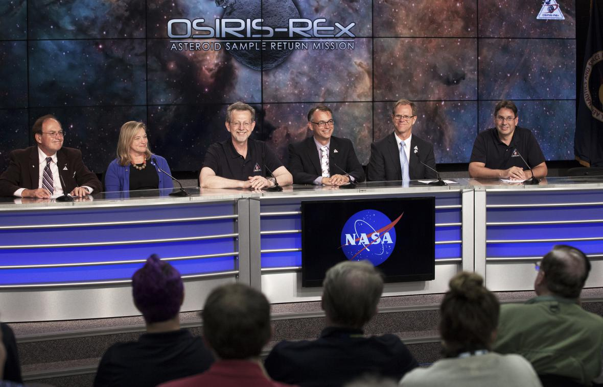Start mise OSIRIS-REx