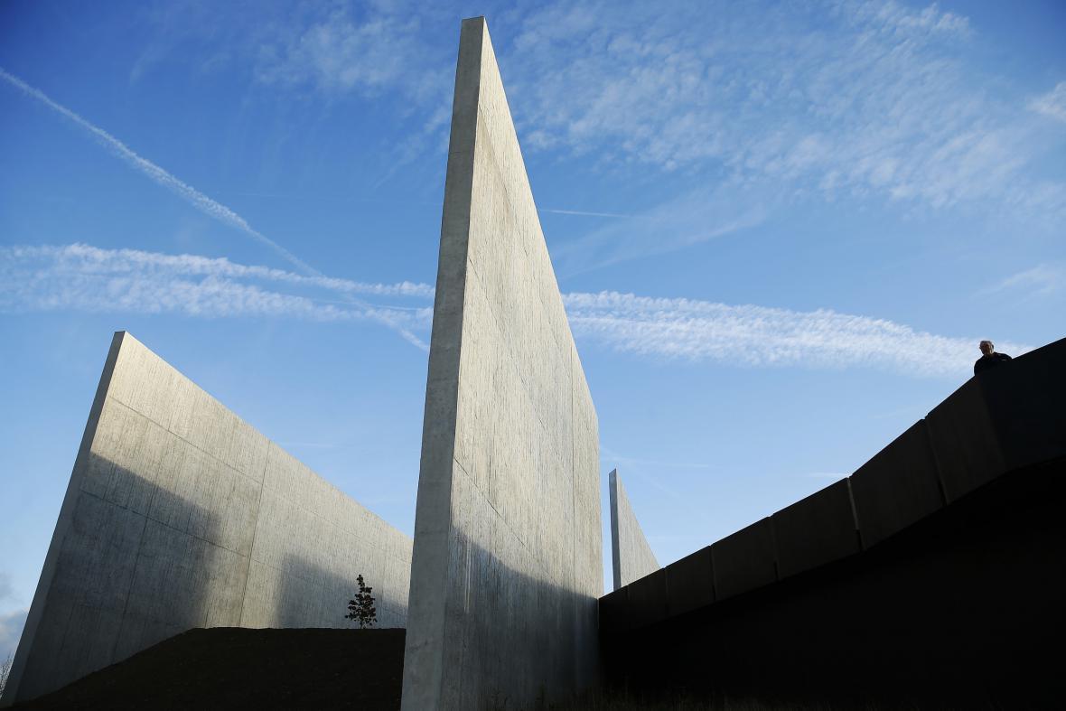 Památník v Shanksvillu