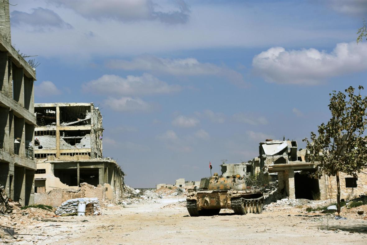 Aleppo v Sýrii