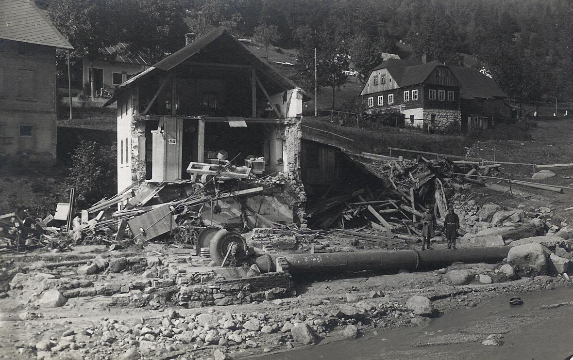 Katastrofa na Bílé Desné v roce 1916