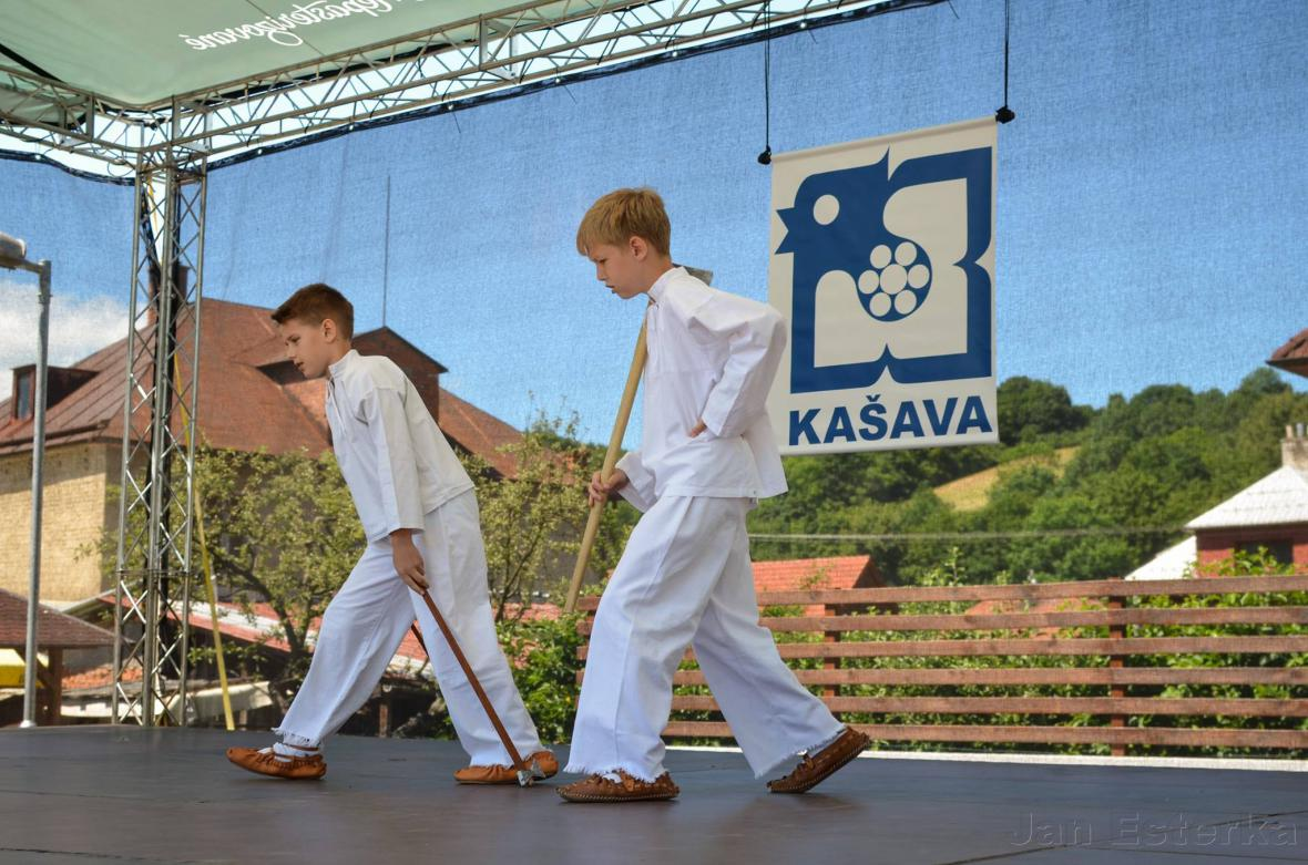 Kašava - vesnice roku 2016