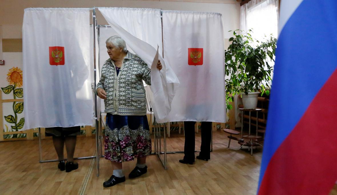 Žena z vesnice Usť-Mana volila do ruského parlamentu