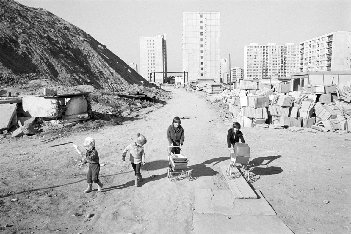 Panelstory Jižního Města 80. let a dnes