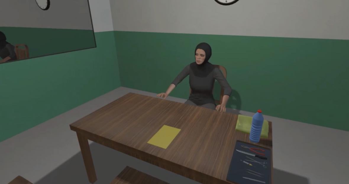 Mučení ve virtuální realitě