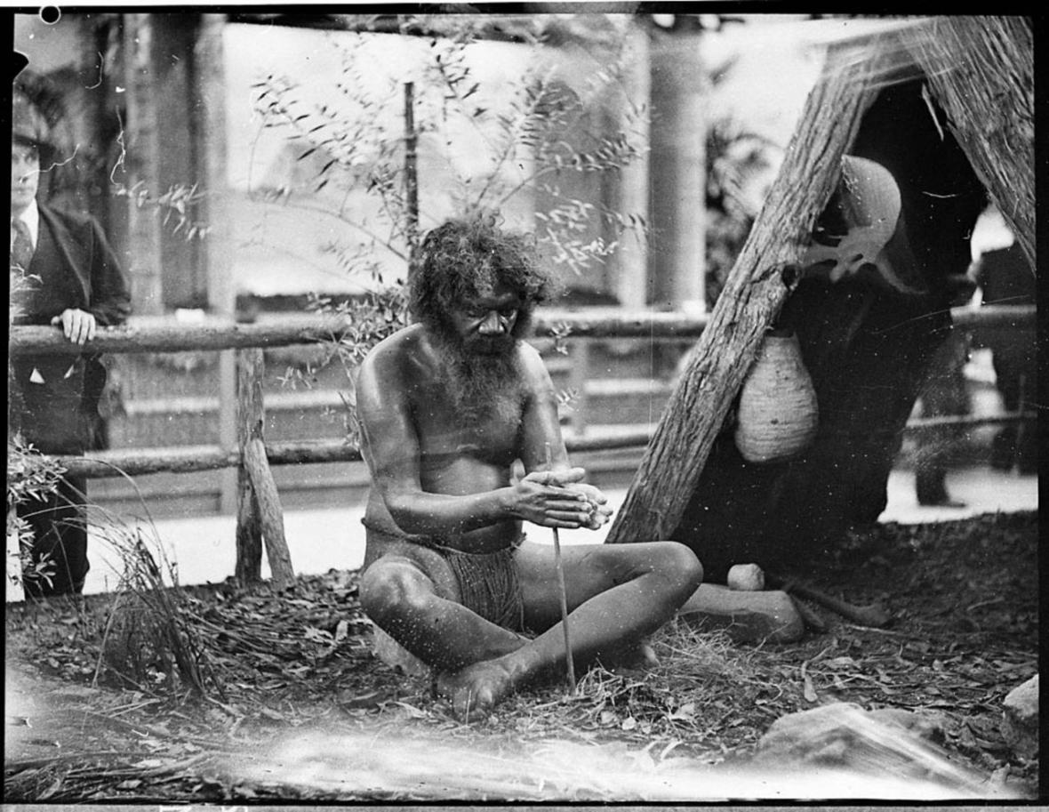 Historické fotografie Austrálců