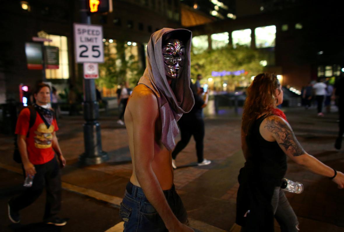 Protesty v Charlotte