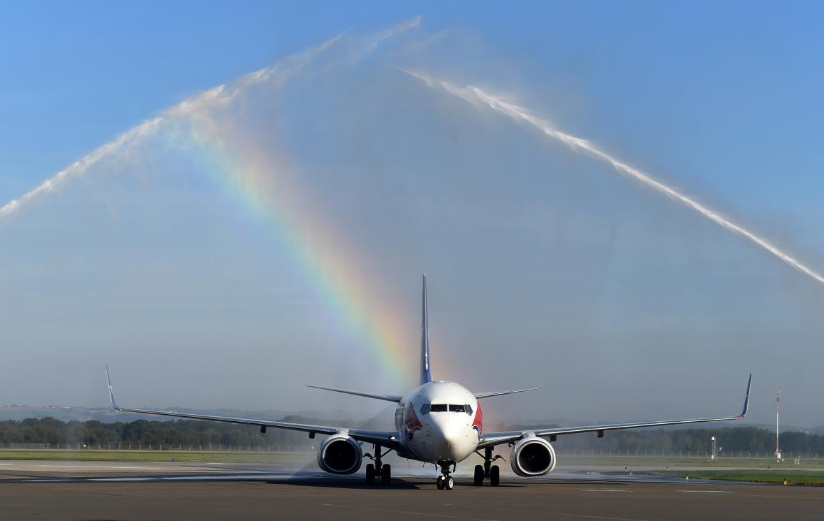 Z Mošnova se začalo létat do Dubaje.
