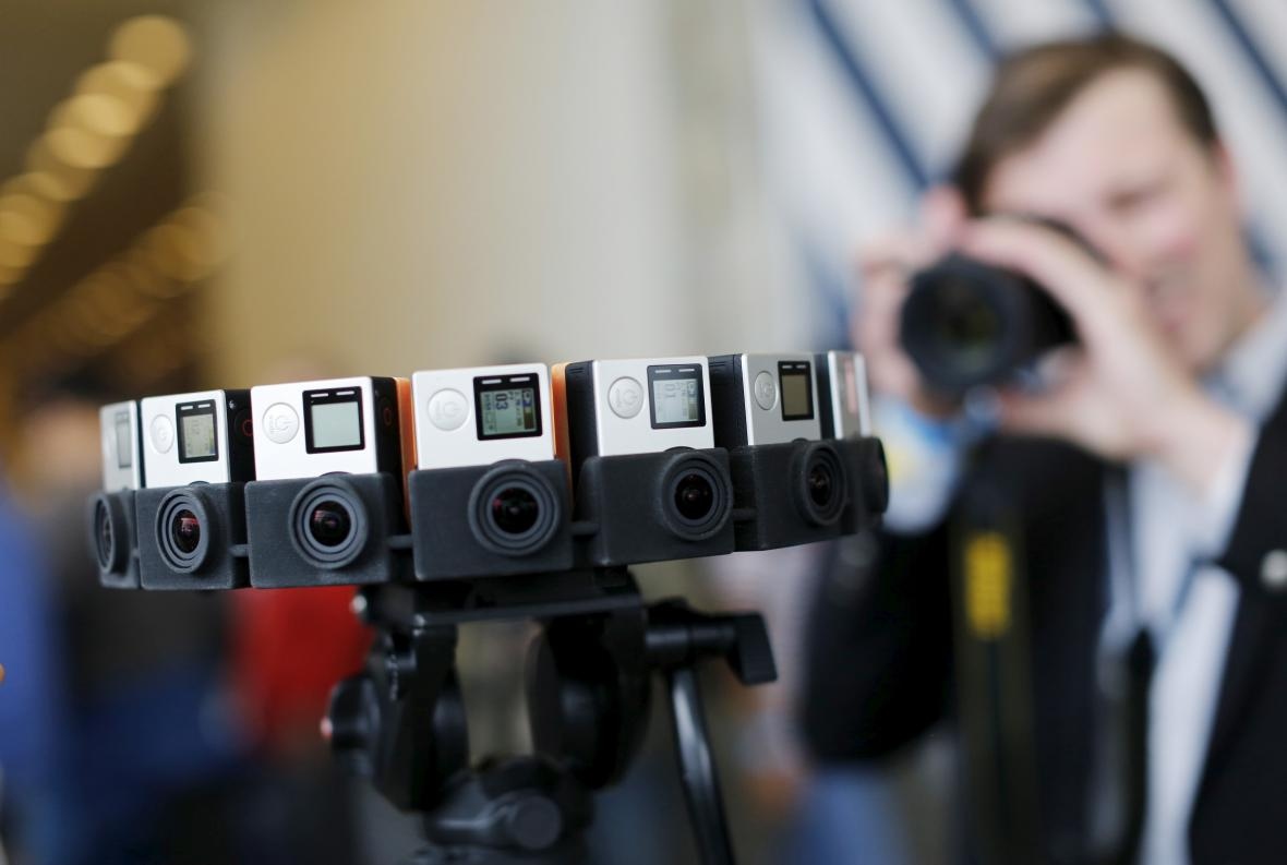 Kamera pro snímání videí ve 360 stupních