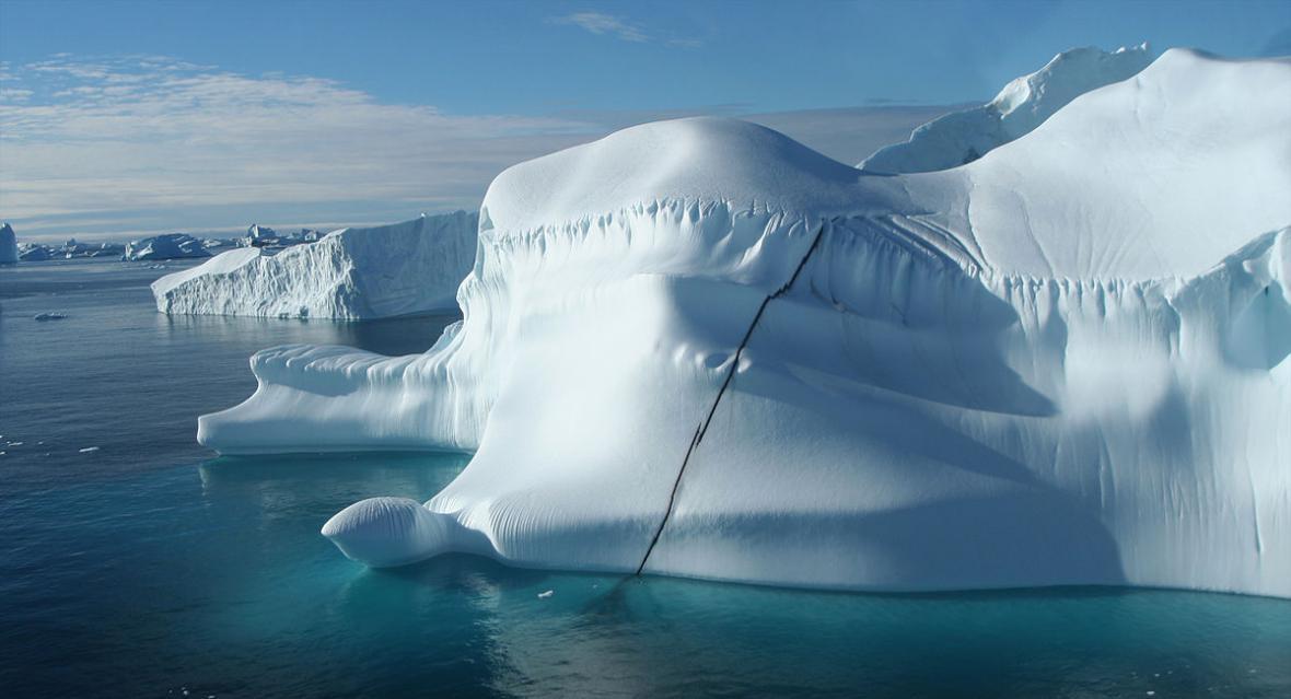 Grónské ledovce