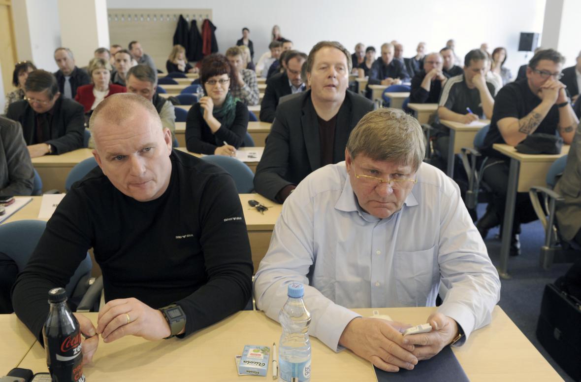 Bronislav Schwarz a Jiří Zelenka