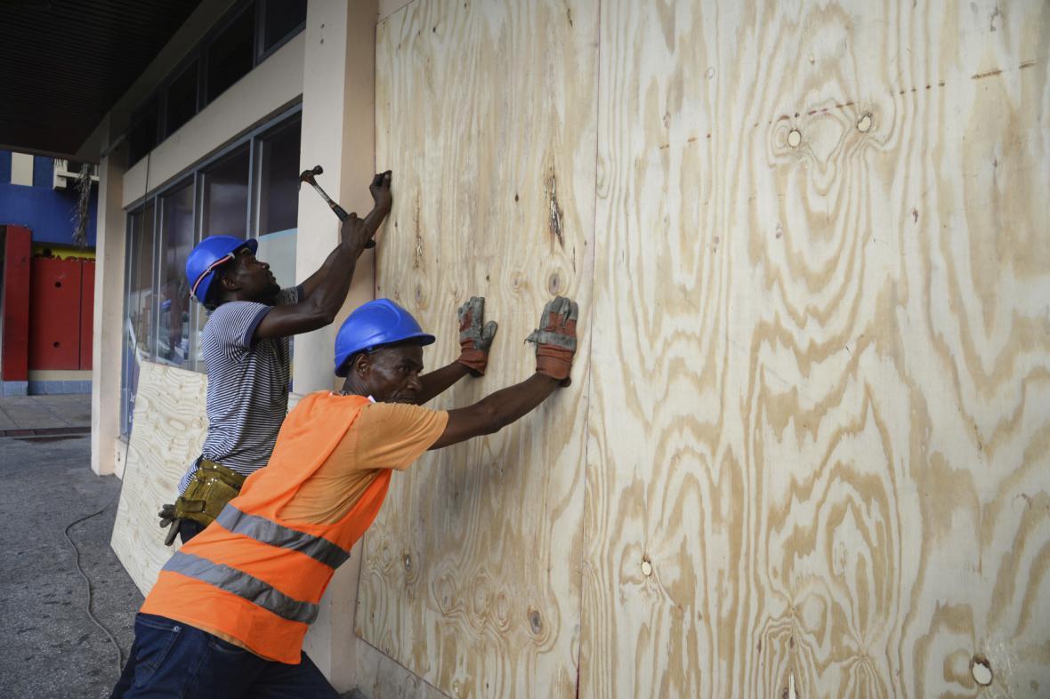 Jamajka před příchodem hurikánu