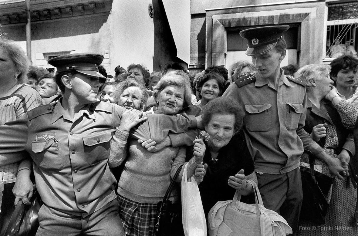 Václav Havel na fotografiích Tomkiho Němce