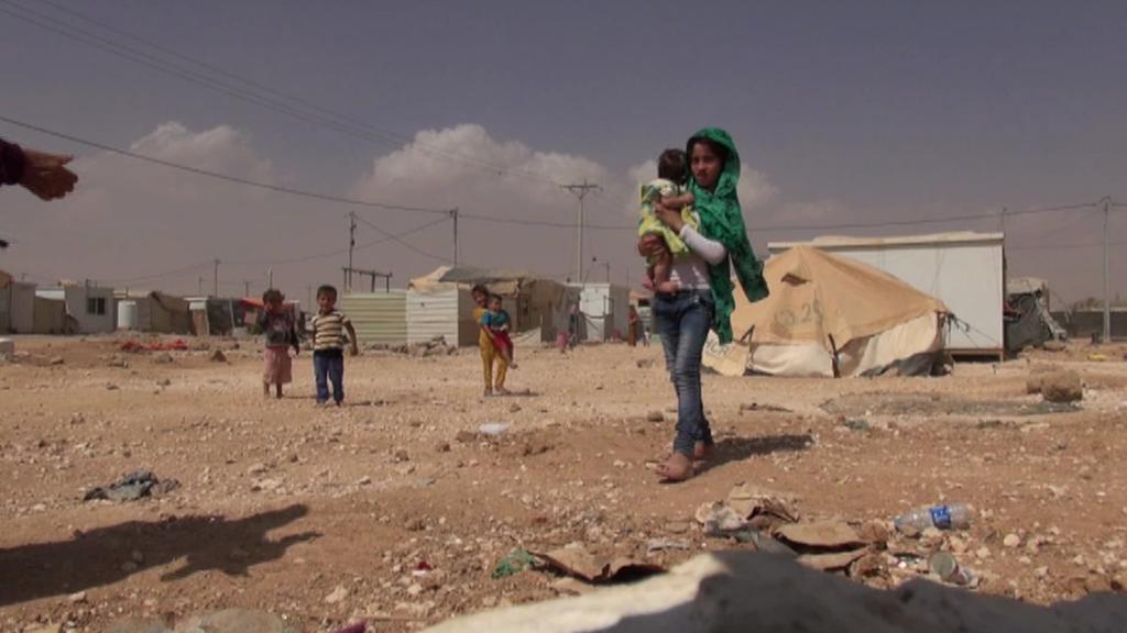 Uprchlický tábor v Zátarí