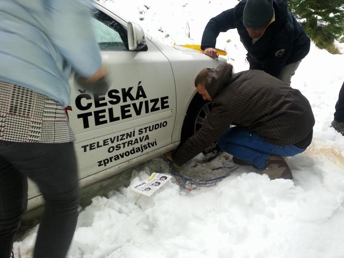 Zapadl i štáb ČT Ostrava