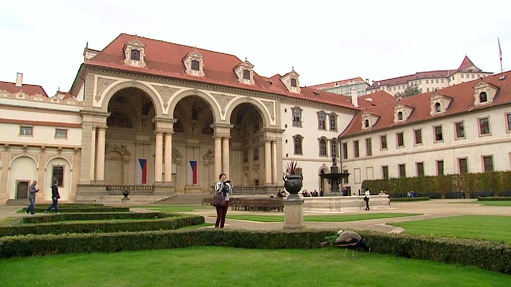 Valdštejnská zahrada v Senátu