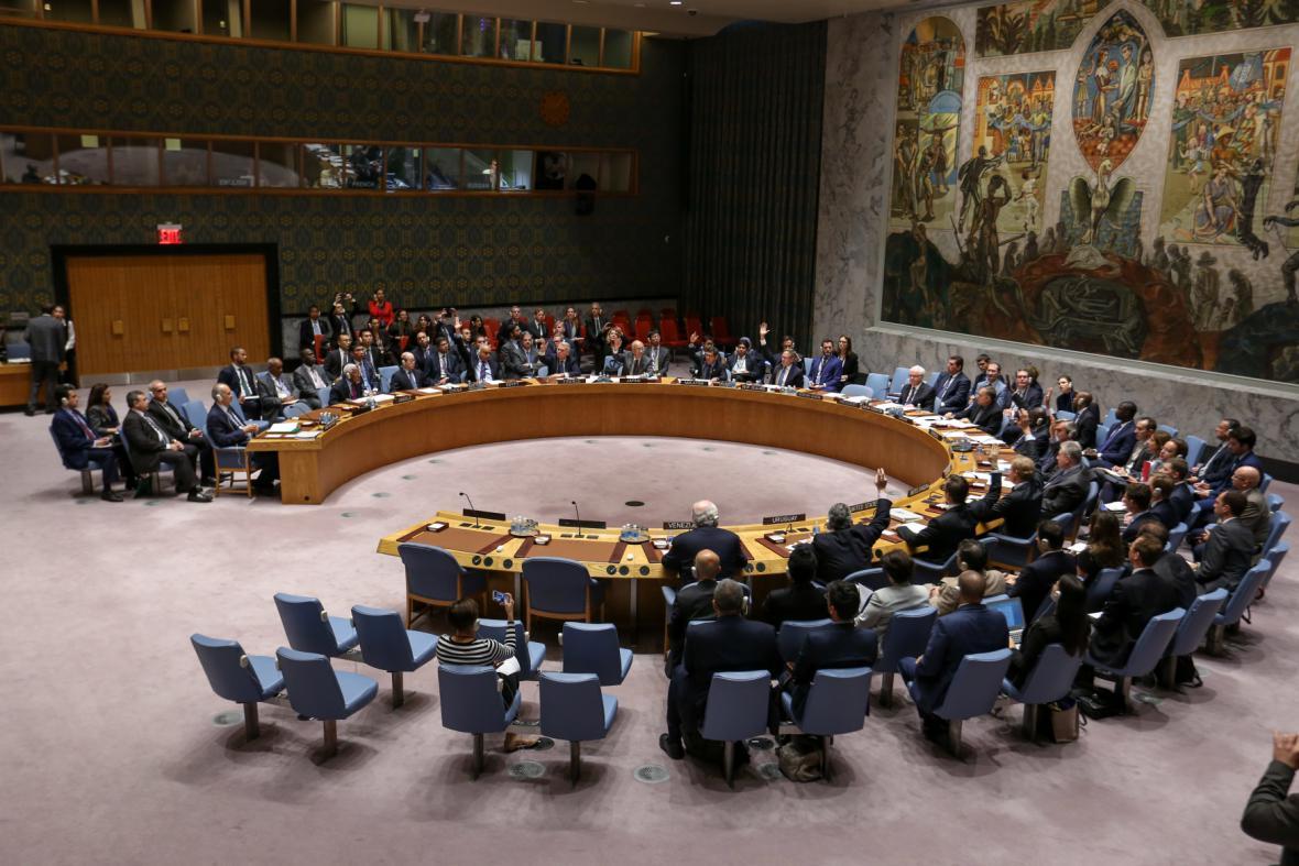 Raba bezpečnosti OSN jedná o další