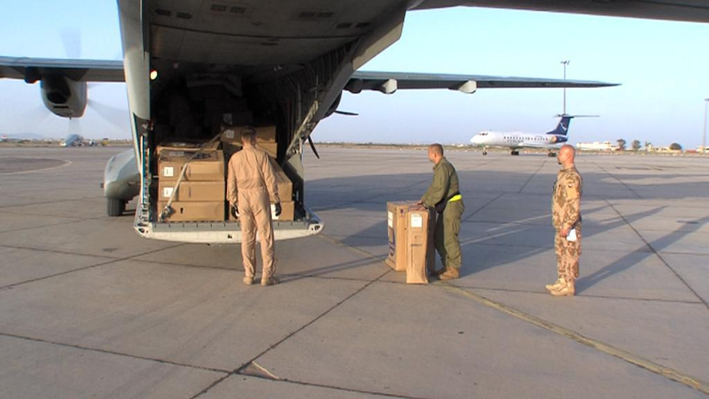 Převoz humanitární pomoci do Sýrie