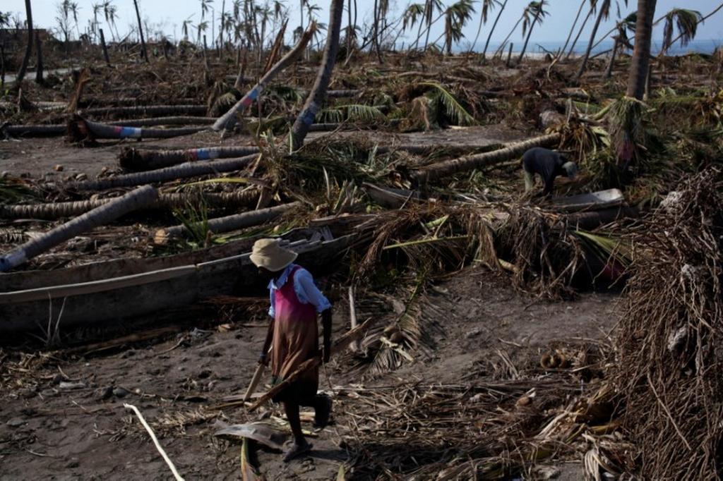 Zkáza po hurikánu Matthew