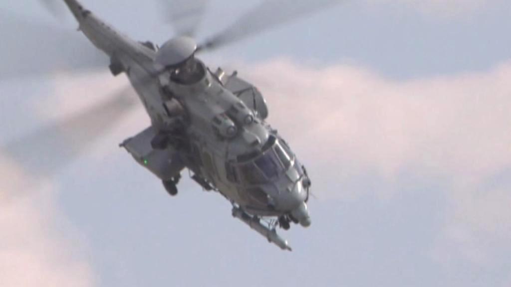 Vrtulník Caracal společnsoti Airbus