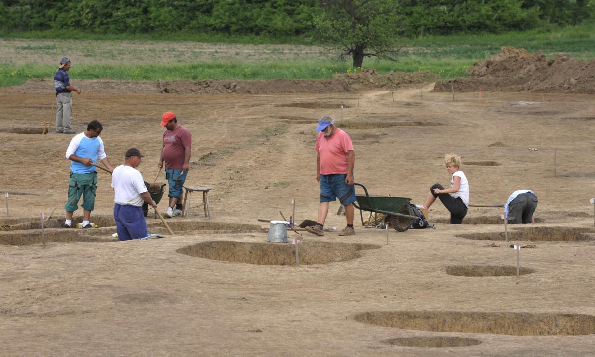 Archeologické vykopávky na Přerovsku