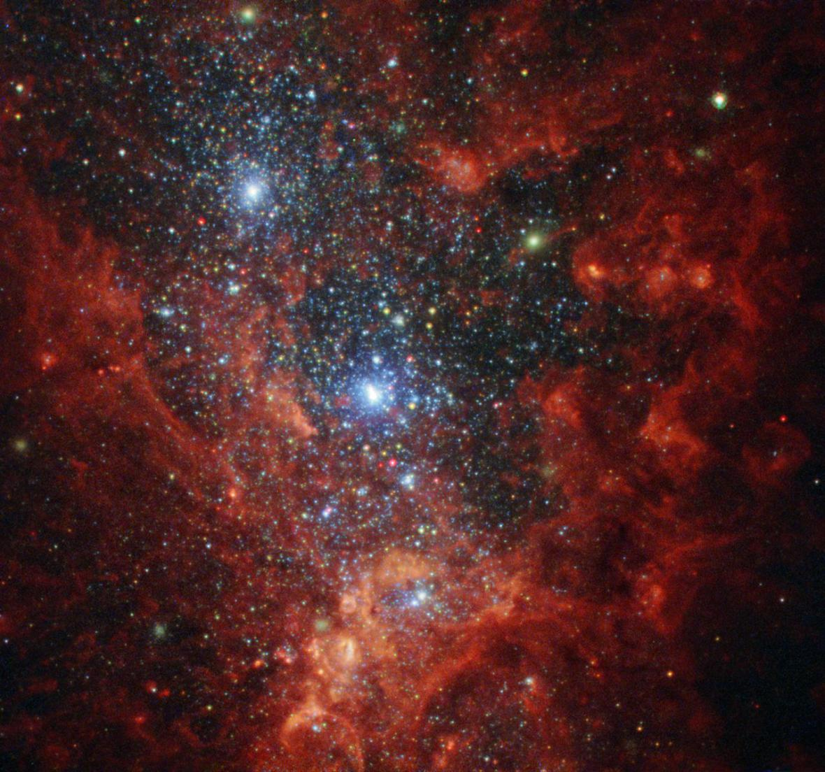 Galaxie objektivem Hubbleova vesmírného teleskopu