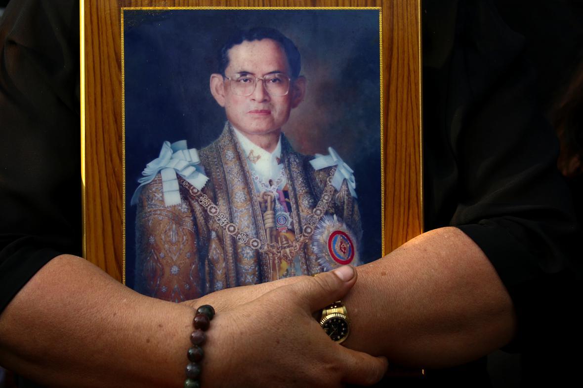 Státní smutek v Thajsku