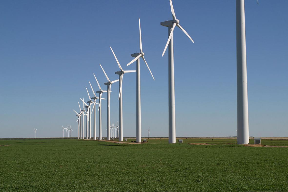 Větrné elektrárny ve světě