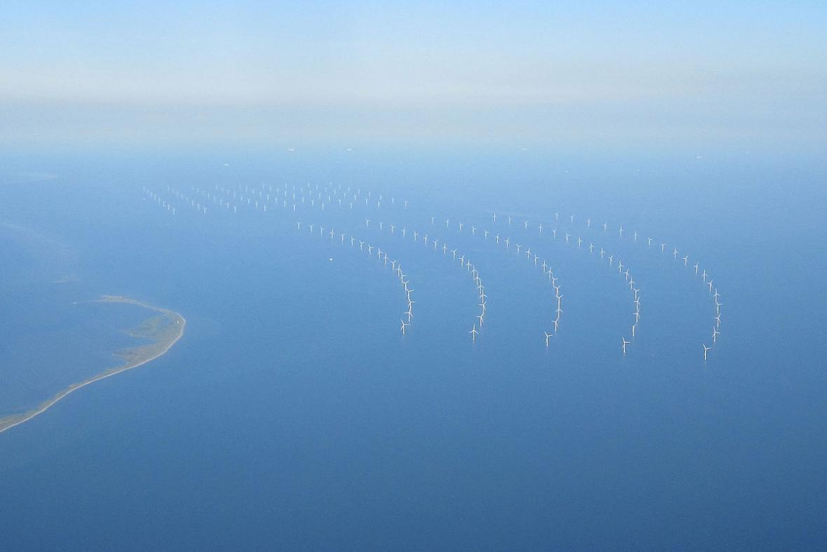Příbřežní větrné elektrárny