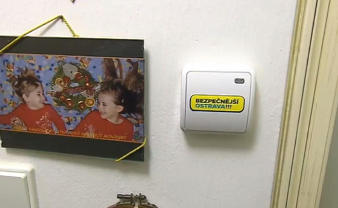 Bezpečnostní tlačítko pro přivolání pomoci